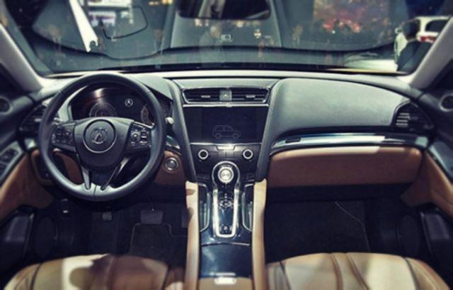 2019 Acura CDX dashboard