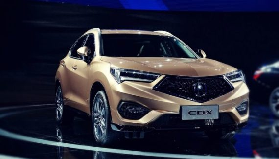 2019 Acura CDX front