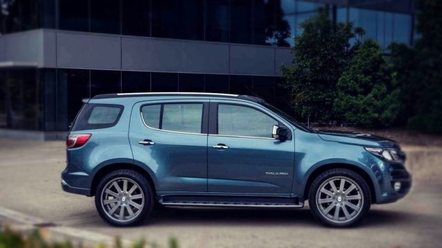 2019 Chevrolet Trailblazer side