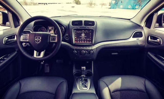 2019 Dodge Journey interior