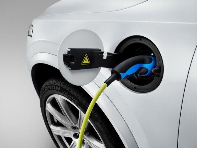 2019 Volvo XC90 plug in hybrid charging
