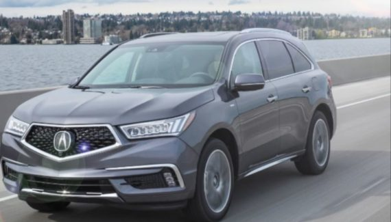 2019 Acura MDX Hybrid front