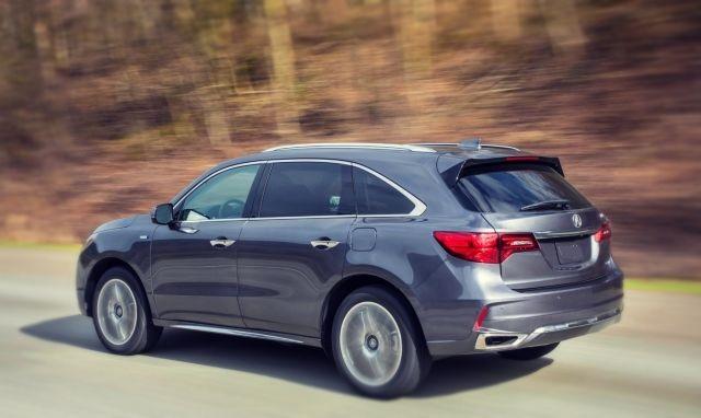 2019 Acura MDX Hybrid rear