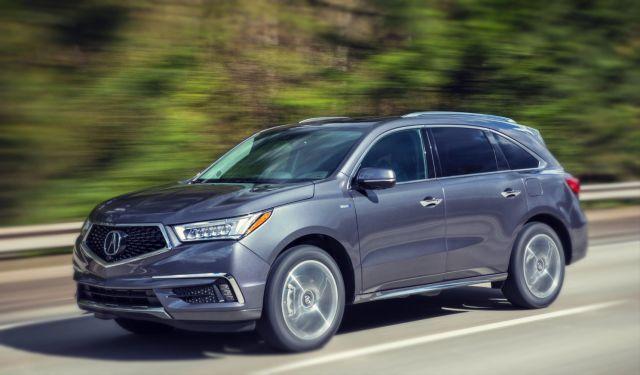 2019 Acura MDX Hybrid side