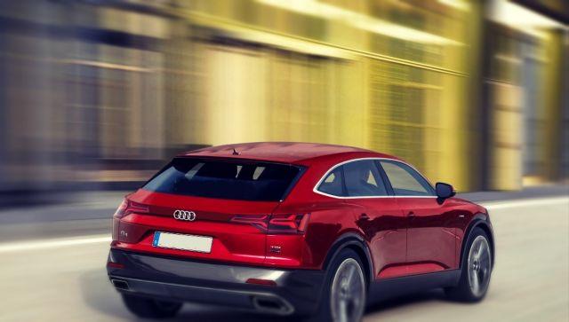 2019 Audi Q4 rear