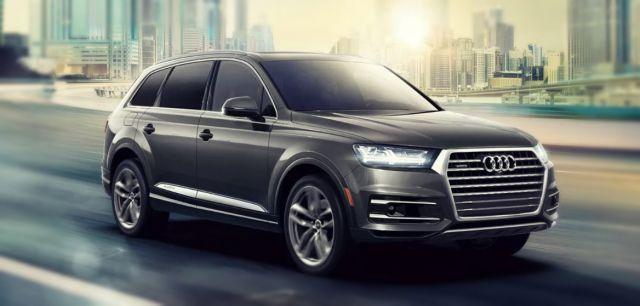 2019 Audi Q7 front