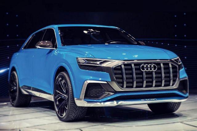 2019 Audi Q8 E-Tron