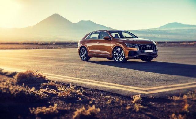 2019 Audi Q8 front