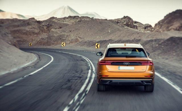 2019 Audi Q8 rear
