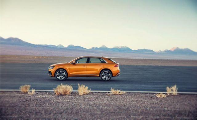 2019 Audi Q8 side