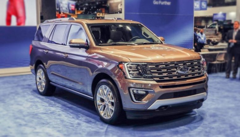 2019 Ford Expedition front