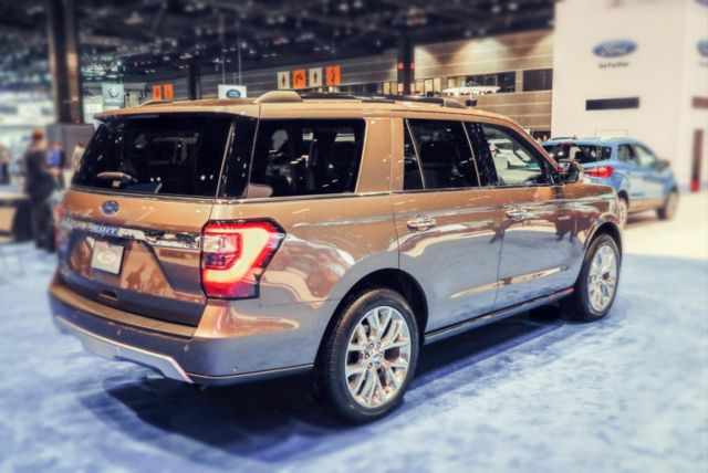 2019 Ford Expedition rear
