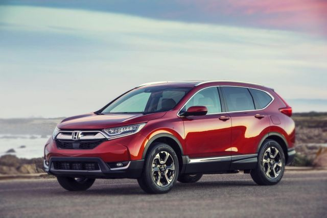 2019 Honda CR-V side