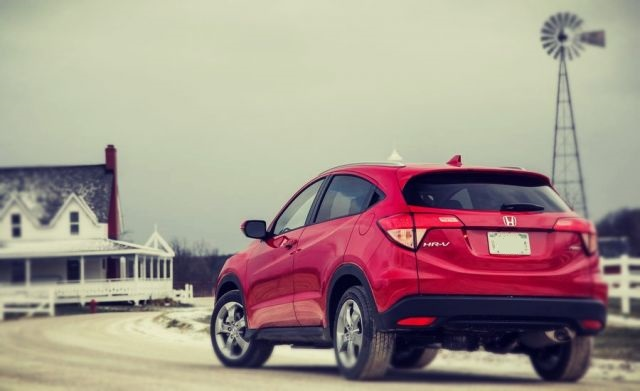 2019 Honda HR-V rear view