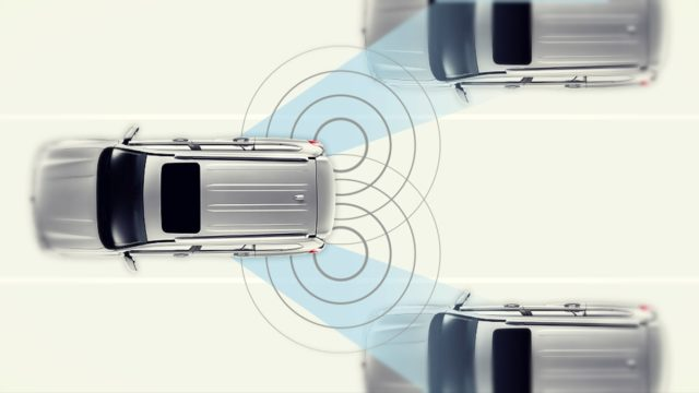 2019 Lexus GX 460 blind spot monitoring