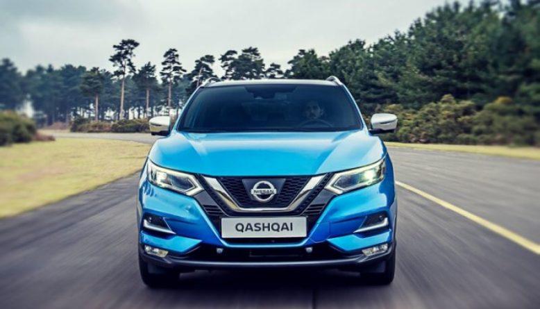 2019 Nissan Qashqai front