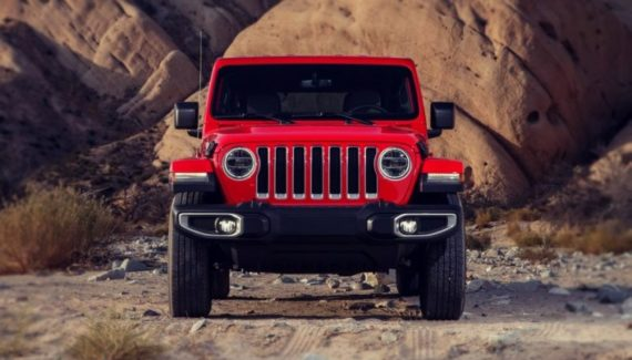 2020 Jeep Wrangler front