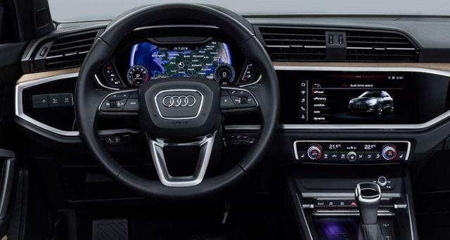 2019 Audi Q3 interior look