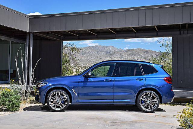 2019 BMW X3 side