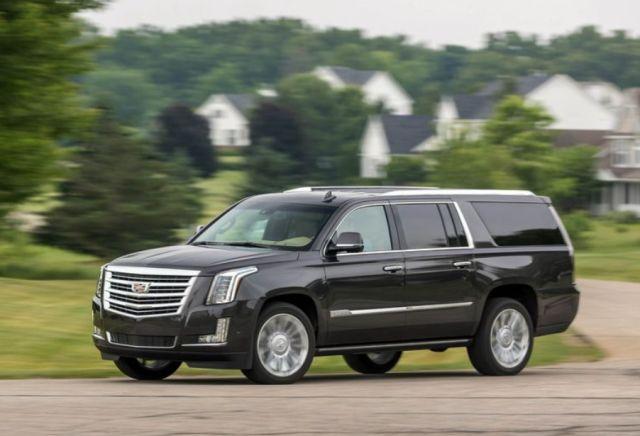 2019 Cadillac Escalade side