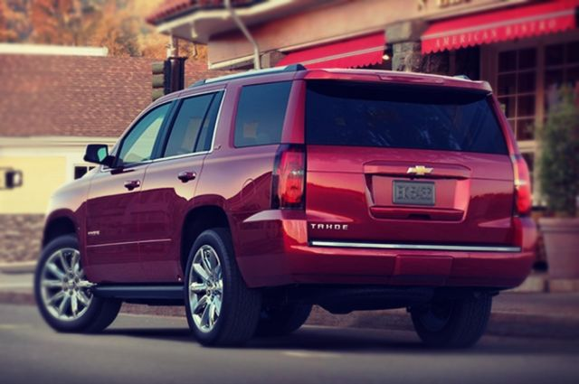 2019 Chevrolet Tahoe rear