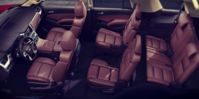2019 Chevrolet Tahoe seats