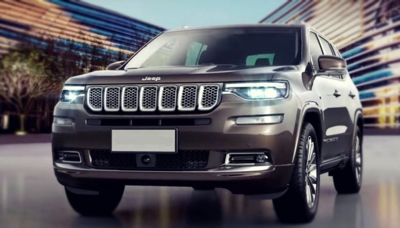 2019 Jeep Grand Commander front