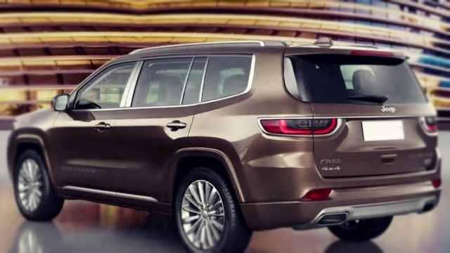 2019 Jeep Grand Commander rear