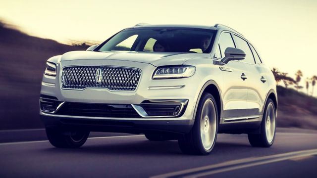 2019 Lincoln MKX front look