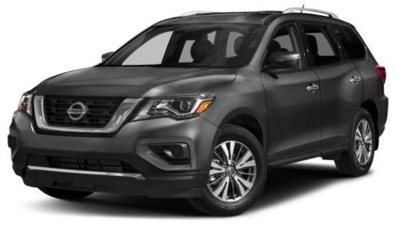 2019 Nissan Pathfinder front look