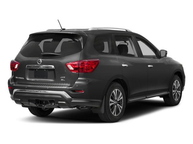 2019 Nissan Pathfinder rear view