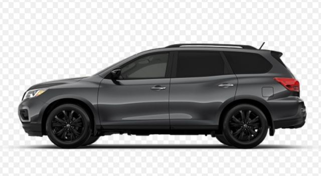 2019 Nissan Pathfinder side look