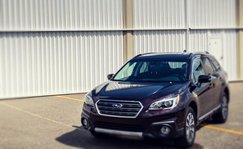 2019 Subaru Outback Hybrid front