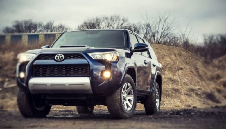 2019 Toyota 4Runner front look