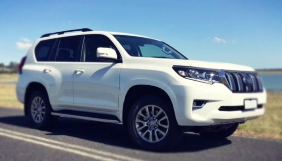 2019 Toyota Land Cruiser Prado front view
