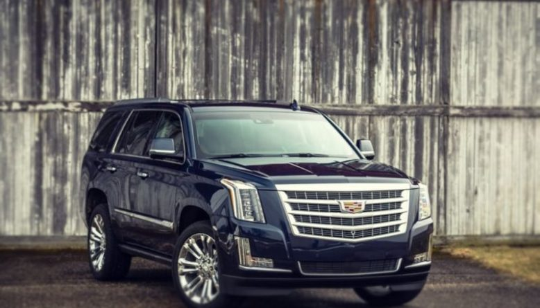 2020 Cadillac Escalade front