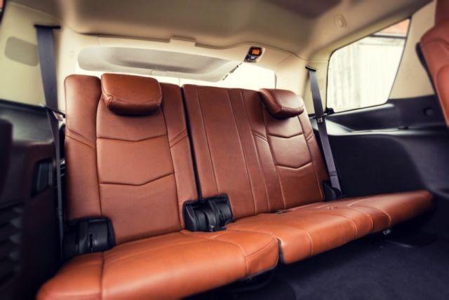 2020 Cadillac Escalade seats