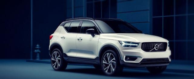 2020 Volvo XC40 front