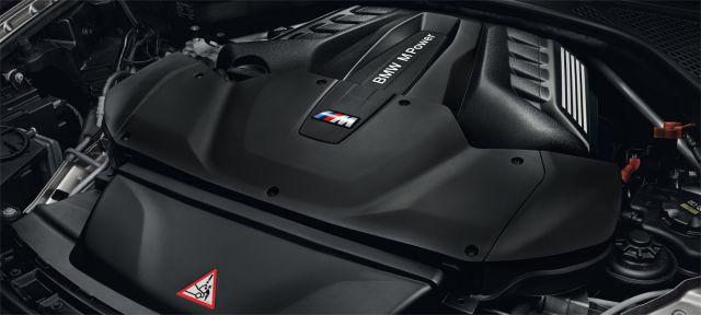 2019 BMW X5M engine
