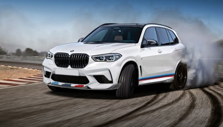 2019 BMW X5M front