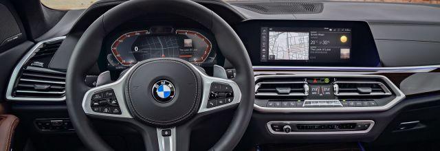 2019 BMW X5M interior