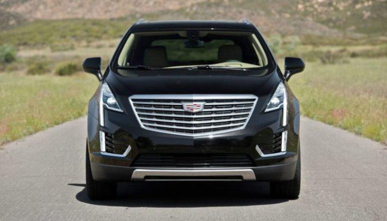 2019 Cadillac XT7 front