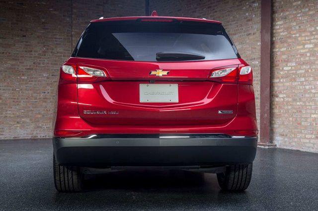 2019 Chevy Equinox rear