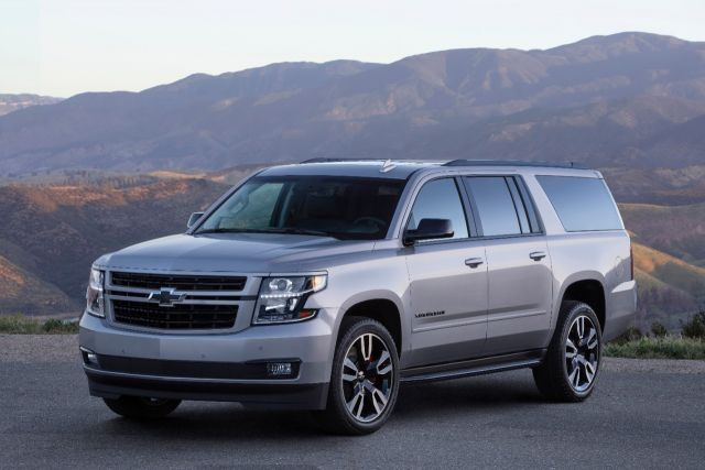 2019 Chevy Suburban front