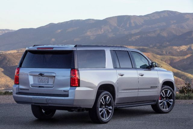 2019 Chevy Suburban rear
