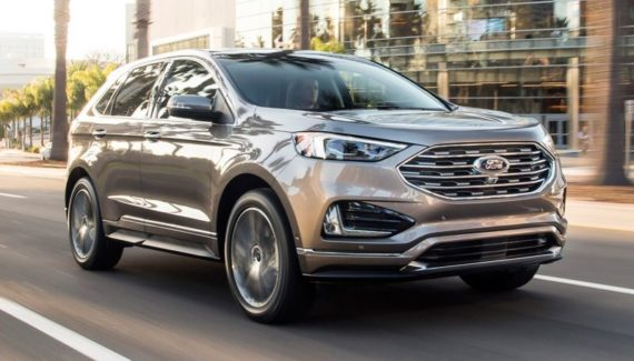 2019 Ford Edge front