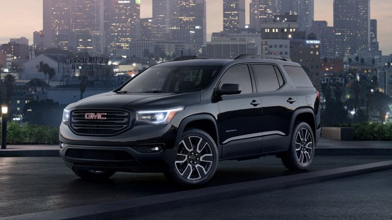 2019 GMC Acadia Review, Black Edition, All Terrain Trim ...