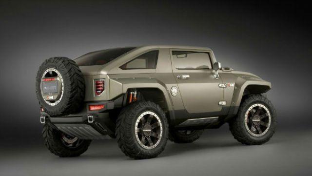 2019 Hummer H3 rear look
