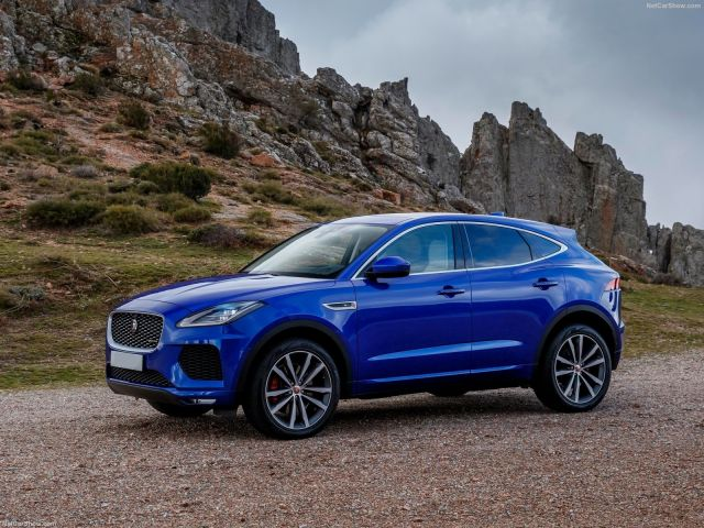 2019 Jaguar E-Pace side