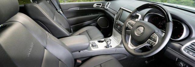 2019 Jeep Grand Wagoneer interior